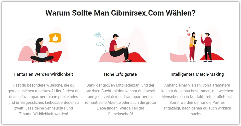 gibmirsex-Startseite
