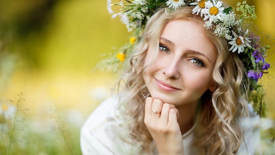 Frau aus Russland